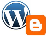 Exempel på bloggverktyg: Blogger och WordPress