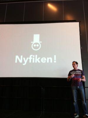 Johan Ronnestam på Vinterminglet. Foto: Mattias Östmar, CC.