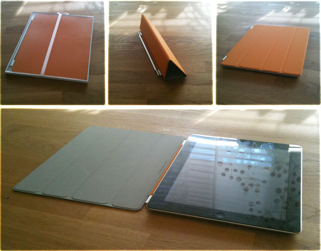 En iPad 2 med Smart Cover