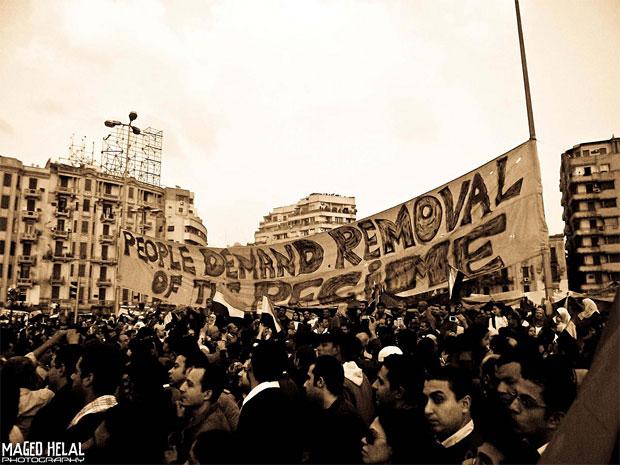 Tahrir-torget under revolutionen i Egypten. Foto: magdino20 | Maged Helal. Licens: CC BY 2.0.