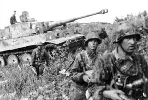 Tyska soldater under Andra världskriget