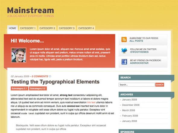WordPress-temat Mainstream