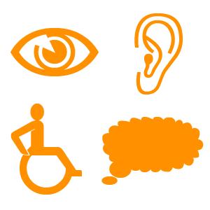 Symboler för tillgänglighet